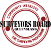 Surveyors Board Queensland logo