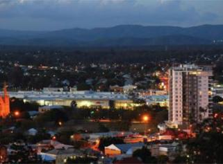 Skyline shot of Ipswich City